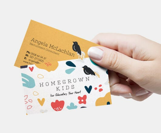 Home Grown Kids Fuel Agency landing page tile